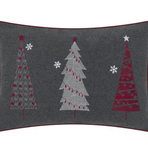A Trio of Festive XMas Tree Cushion