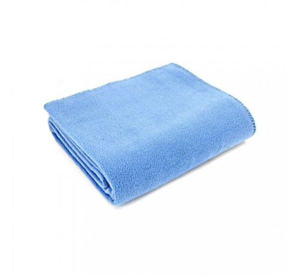 China Blue Fleece Throw