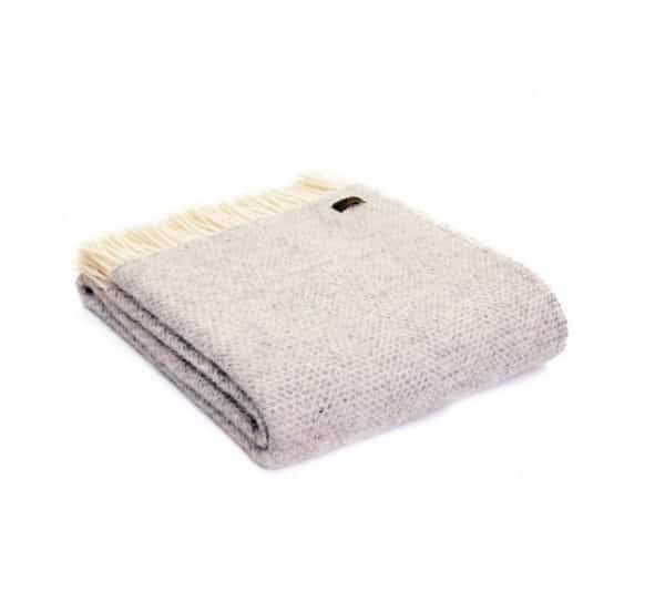 Beehive Throw in Grey