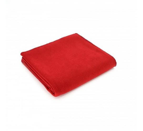 Large Red Fleece Throw