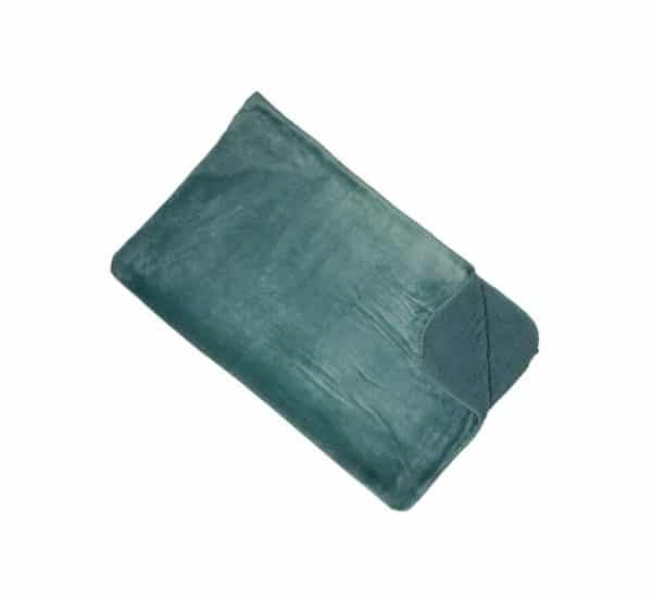 Cosy Seafoam Green Reversible Throw