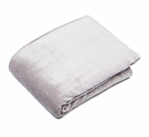 Cosy Silver Reversible Throw