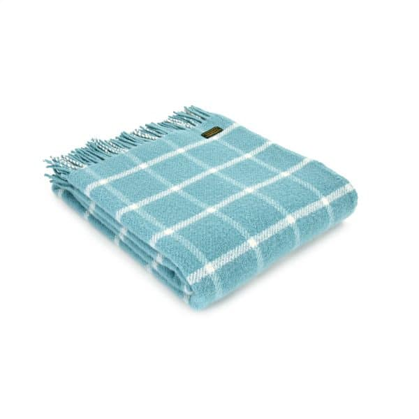 Throw Chequered Check Spearmint
