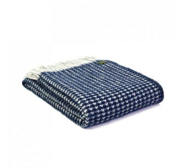 Treetop Throw in Navy Blue