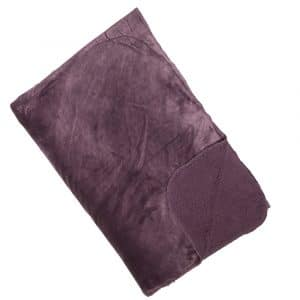 Cosy Mauve Reversible Throw