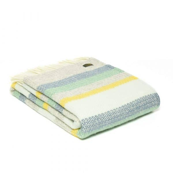 Pure New Wool Illusion Horizon Throw