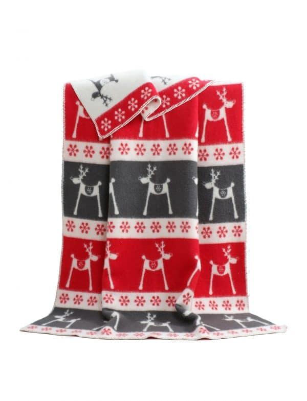 Wool Blanket - Rudolph