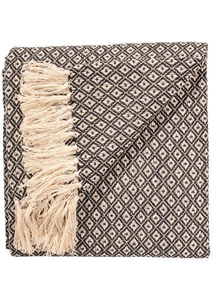 Diamond weave black
