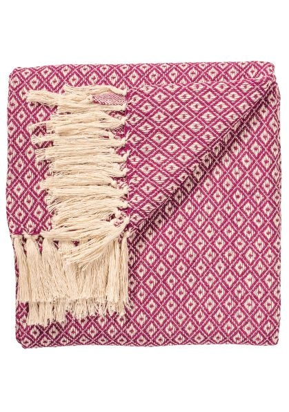 Diamond weave purple